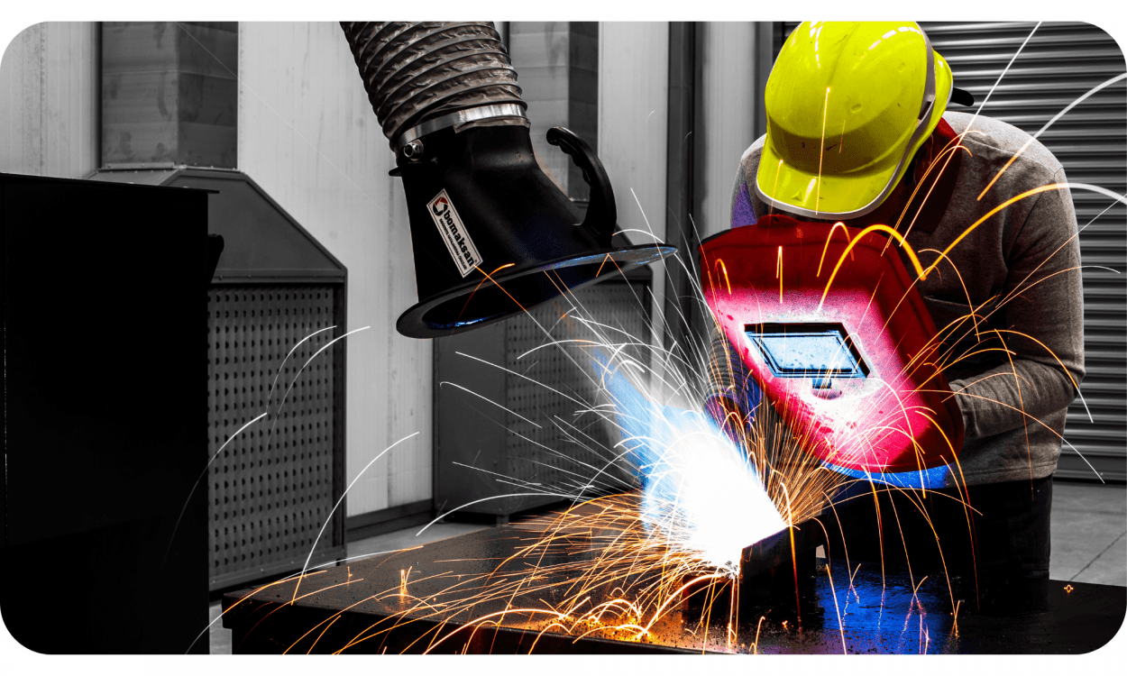 What is Welding Fume? Why it should be filtered? Bomaksan Industrial Air Filtration Systems