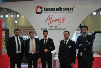 ISK- SODEX Fair with New Collaborations | Bomaksan Bomaksan Industrial Air Filtration Systems